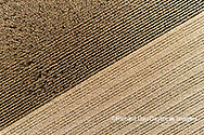 63801-12710 Partially harvested corn field in fall-aerial  Marion Co. IL