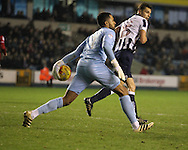 Jordan Archer of Millwall during the Sky Bet League 1 match at The Den, London<br /> Picture by Richard Brooks/Focus Images Ltd 07947656233<br /> 10/12/2016