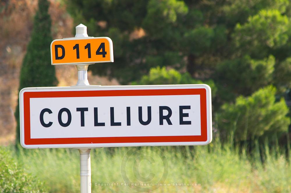 Cotlliure - Collioure in Catalan. Collioure. Roussillon. France. Europe.