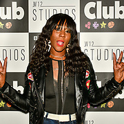 Corene Campbell attend BBC Club at W12 Studios Lunch party on 14 March 2019, London, UK.