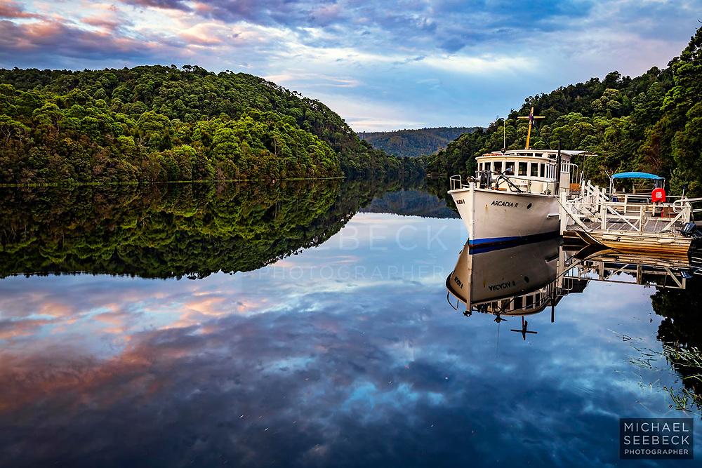 A beautiful still morning captured on the Pieman River.<br /> <br /> Code: LADW0003<br /> <br /> Open Edition Print / Stock Photo