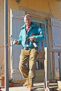 Bernard Bellahsen. Domaine Fontedicto, Caux. Pezenas region. Languedoc. Owner winemaker. France. Europe. Bottle.