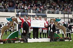 Team Germany: Nagel Carsten Otto, Rieskamp Goedeking Tim, Naeve Jorg, Dreher Hans Dieter<br /> Dublin Horse Show 2012<br /> © Hippo Foto - Beatrice Scudo