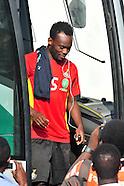 Michael Essien Training pre Zambia game