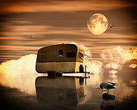 A caravan that is clearly deserted stands for sale on the beach; it is an image you come across in your dreams; it is mysterious in the light of the full moon. –<br /> -<br /> BUY THIS PRINT AT<br /> <br /> FINE ART AMERICA<br /> ENGLISH<br /> https://janke.pixels.com/featured/an-abandoned-caravan-for-sale-jan-keteleer.html<br /> <br /> <br /> WADM / OH MY PRINTS<br /> DUTCH / FRENCH / GERMAN<br /> https://www.werkaandemuur.nl/nl/shopwerk/Verlaten-caravan-te-koop/808833/132?mediumId=1&size=70x55<br /> <br /> -