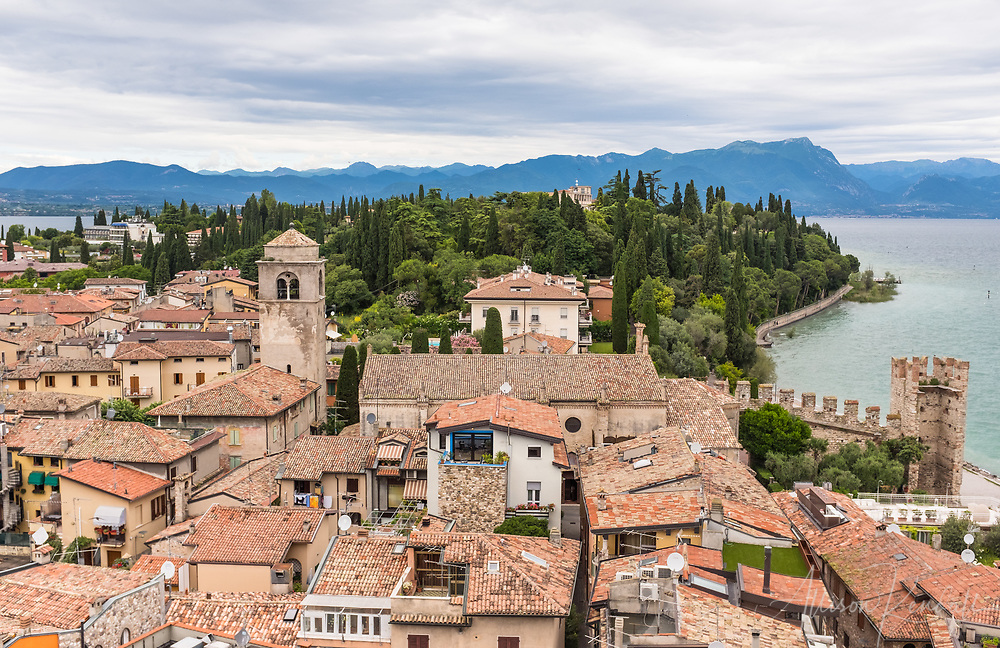 Scenes and details from Sirmione, Italy
