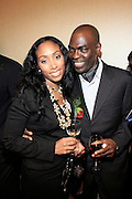 Michelle Murray and Aziz Gueye Adetimirin at The Network Journal 40 under Forty 2008 Achievement Awards held at the Crowne Plaza Hotel on June 12, 2008