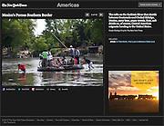 """Mexico's Porous Southern Border"", The New York Times, Mexico, April 26, 2013. Photographs by Rodrigo Cruz."