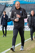 Gillingham FC manager Steve Lovell before  the EFL Sky Bet League 1 match between Gillingham and Scunthorpe United at the MEMS Priestfield Stadium, Gillingham, England on 16 February 2019.