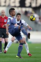 FOOTBALL - FRENCH CHAMPIONSHIP 2010/2011 - L1 - GIRONDINS BORDEAUX v AC ARLES AVIGNON - 9/04/2011 - PHOTO ERIC BRETAGNON / DPPI - ANDRE (BOR)