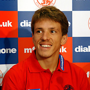 Middlesbrough's Juninho is happy to be back for his third spell at Middlesbrough