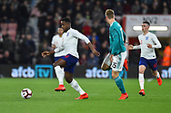 Ryan Sessegnon of England U21's on the attack during the U21 International match between England and Germany at the Vitality Stadium, Bournemouth, England on 26 March 2019.