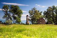 Abandoned church near to Viden village