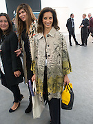MRS. AIDEN BARCLAY, The VIP preview of Frieze. Regent's Park. London. 16 October 2013