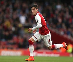 28 October 2017 London: Premier League Football: Arsenal v Swansea City : Mesut Ozil of Arsenal.<br /> Photo: Mark Leech