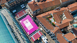 VISTA DAL DRONE<br /> SUPERCOPPA 2020-2021 PALLAVOLO FEMMINILE <br /> PIAZZA DEI SIGNORI<br /> VICENZA 04-09-2020<br /> FOTO FILIPPO RUBIN