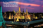 National Geographic (Spain)feature on the Royal Palace, Bangkok