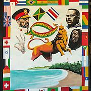 Central America, Centro America, Latin America, Latin, tropical, Caribbean, Costa Rica, Puerto Viejo, <br /> The colorful sights of tiny Puerto Viejo, Costa Rica.