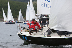 The Silvers Marine Scottish Series 2014, organised by the  Clyde Cruising Club,  celebrates it's 40th anniversary.<br /> Day 1, Sonata, start, 8217N, So, Gareth Martel, Ballyhome YC<br /> <br /> Racing on Loch Fyne from 23rd-26th May 2014<br /> <br /> Credit : Marc Turner / PFM