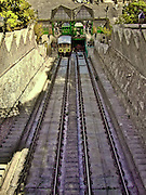 In Budapest you can try some unusal public transport vehicles. One of them is the Sikló (funicular) on Clark Adam Square at the Buda end of the Chain Bridge. It takes you up the Castle District with the Royal Palace and Matthias Church in about a minute.