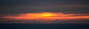 Solnedgang på Runde   Sunset at Runde.