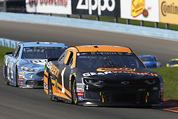 August 5, 2018 - Watkins Glen, New York, United States of America - Jamie McMurray (1) brings his car through the turns during the Go Bowling at The Glen at Watkins Glen International in Watkins Glen , New York. (Credit Image: © Chris Owens Asp Inc/ASP via ZUMA Wire)