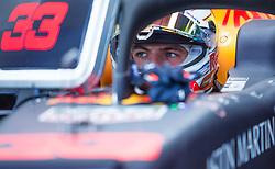 May 25, 2019 - Montecarlo, Monaco - Max Verstappen of Netherland and Red Bull Racing driver before the qualification session at Formula 1 Grand Prix de Monaco on May 25, 2019 in Monte Carlo, Monaco. (Credit Image: © Robert Szaniszlo/NurPhoto via ZUMA Press)