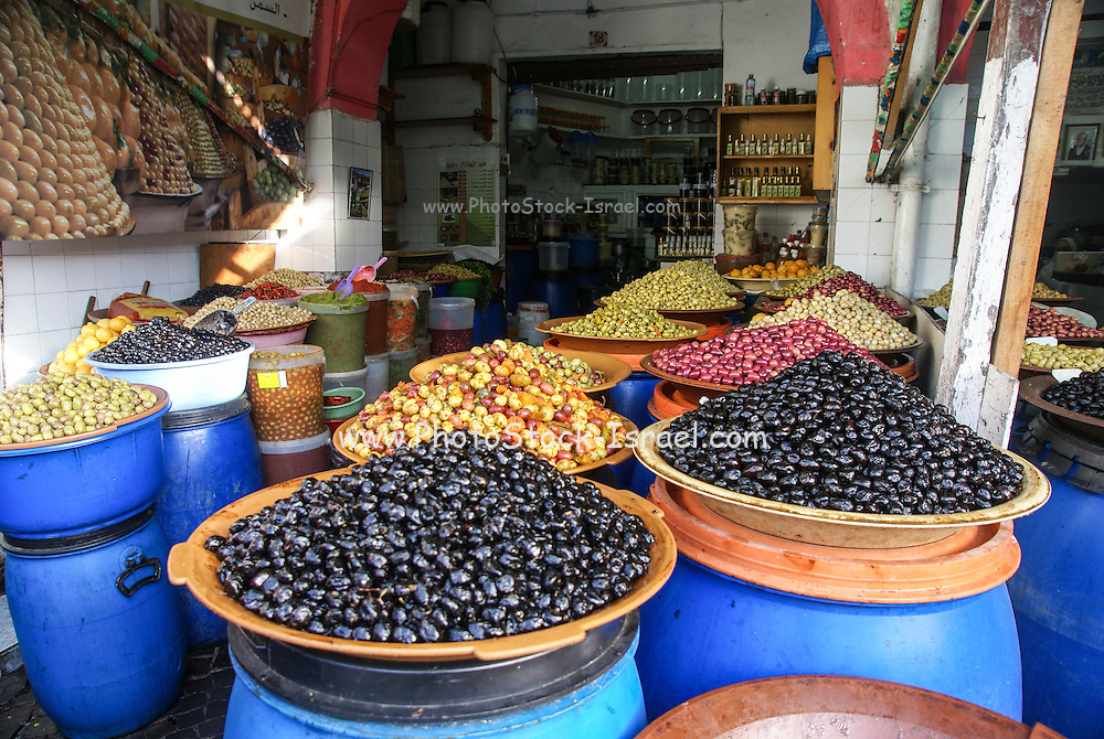 Casablanca, Morocco The market