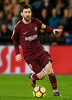 FC Barcelona's Leo Messi during La Liga match. December 10,2017. (ALTERPHOTOS/Acero)