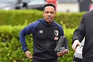 Nathaniel Clyne of Bournemouth who signed from Liverpool on loan yesterday arriving at the Vitality Stadium before the The FA Cup 3rd round match between Bournemouth and Brighton and Hove Albion at the Vitality Stadium, Bournemouth, England on 5 January 2019.