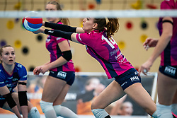 Dagmar Boom in action during the league match Talentteam Papendal vs.  Eurosped on January 23, 2021 in Ede.