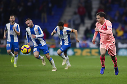 December 8, 2018 - Barcelona, Catalonia, Spain - December 8, 2018 - Cornella- El Prat, Barcelona, Spain - LaLiga Santander- RCD Espanyol v FC Barcelona; Philippe Coutinho of FC Barcelona fights for the ball against defense of RCD Espanyol  (Credit Image: © Marc Dominguez/ZUMA Wire)