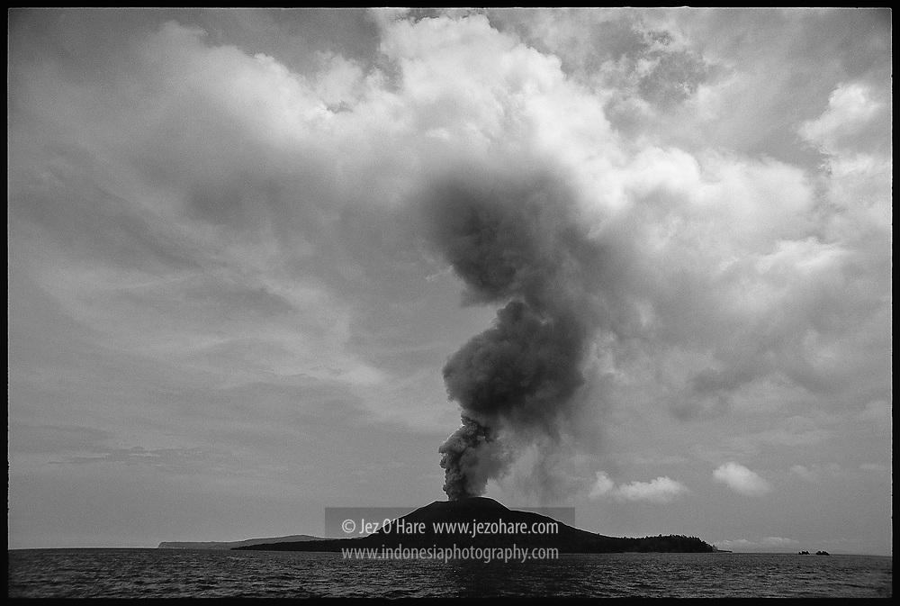 Anak Krakatau, Selat Sunda, Indonesia.