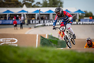 #96 (WALKER Sarah) NZL at Round 2 of the 2020 UCI BMX Supercross World Cup in Shepparton, Australia.