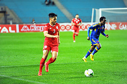 March 22, 2019 - Rades, Tunisia - Wajdi Kechrida(3) of Tunisia  during the Match Tunisia vs Eswatini at the Rades Olympic stadium in the last qualifying round of the 2019 African Nations Cup finals vs. Tun vs Eswatini 4/0. (Credit Image: © Chokri Mahjoub/ZUMA Wire)