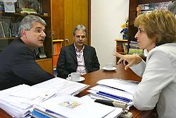 A governadora eleita do Rio Grande do Sul, Yeda Crusius durante encontro com o presidente da Assembléia Legislativa do RS, Fernando Zachia. FOTO: Jefferson Bernardes/Preview.com