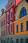 Renesansowe kamienice na tarnowskim rynku, Polska<br /> Renaissance tenement houses on the Tarnów market, Poland