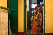 On the day of kumari puja she is of everyone veneration and is subjected hours and hours of ceremonial procedure and worshipping.