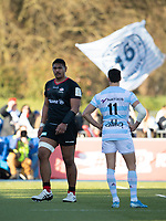 Rugby Union - 2019 / 2020 European Rugby Heineken Champions Cup - Pool Four: Saracens vs. Racing 92<br /> <br /> Saracens' Will Skelton red carded in the first half, at Allianz Park.<br /> <br /> COLORSPORT/ASHLEY WESTERN