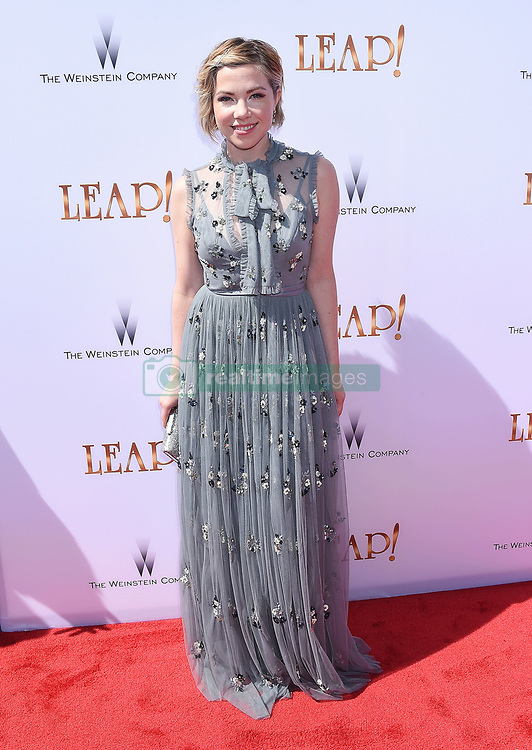 LOS ANGELES, CA - AUGUST 19: Actress Debbie Sherman attends the premiere of The Weinstein Company's 'Leap!' at Pacific Theatres at The Grove Los Angeles on August 19, 2017 in Los Angeles, California. 19 Aug 2017 Pictured: LOS ANGELES, CA - AUGUST 19: Singer/actress Carly Rae Jepsen attends the premiere of The Weinstein Company's 'Leap!' at Pacific Theatres at The Grove Los Angeles on August 19, 2017 in Los Angeles, California. Photo credit: Jeffrey Mayer / MEGA TheMegaAgency.com +1 888 505 6342