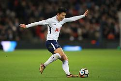 7 January 2018 -  The FA Cup - 3rd Round - Tottenham Hotspur v AFC Wimbledon - Son Heung-min of Tottenham Hotspur - Photo: Marc Atkins/Offside