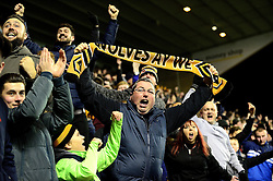 Wolverhampton Wanderers fans celebrate as Joe Mason scores the opening goal to make it 1-0 - Mandatory by-line: Dougie Allward/JMP - 14/01/2017 - FOOTBALL - Molineux - Wolverhampton, England - Wolverhampton Wanderers v Aston Villa - Sky Bet Championship
