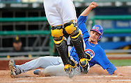 Ryan Theriot scores for the Cubbies.