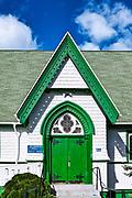 Quaint country church, Campobello Island, New Brunswick, Canada