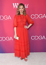 February 19, 2019 - Beverly Hills, California, U.S. - Leslie Grossman arrives for the 21st CDGA (Costume Designers Guild Awards) at the Beverly Hilton Hotel. (Credit Image: © Lisa O'Connor/ZUMA Wire)