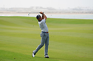 Hugo Leon (CHI) on the 9th during Round 1 of the Oman Open 2020 at the Al Mouj Golf Club, Muscat, Oman . 27/02/2020<br /> Picture: Golffile | Thos Caffrey<br /> <br /> <br /> All photo usage must carry mandatory copyright credit (© Golffile | Thos Caffrey)