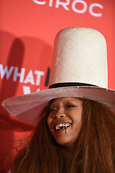 Erykah Badu attends Paramount Pictures' 'What Men Want' Premiere at Regency Village Theatre on January 28, 2019 in Los Angeles, CA, USA. Photo by Lionel Hahn/ABACAPRESS.COM