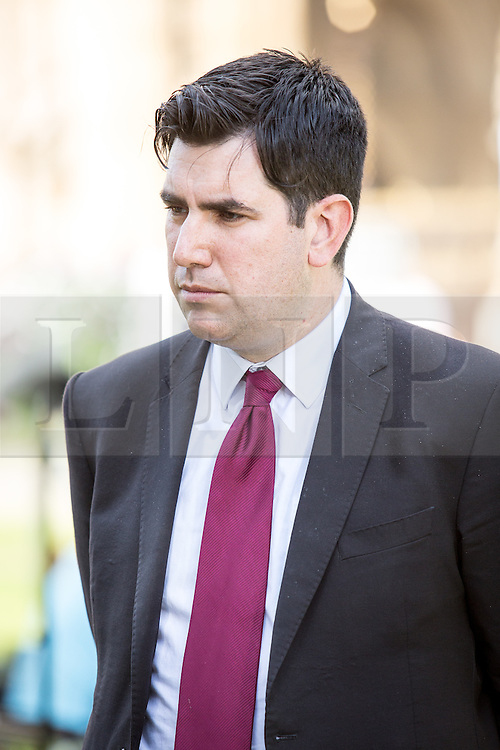 © Licensed to London News Pictures. 06/07/2016. London, UK. Shadow Justice Secretary RICHARD BURGON on College Green on the day the report of the Iraq Inquiry is published. Salmond has called for legal action against Tony Blair following the publication of the Inquiry, which was predicated to take approximately one year, but has taken seven. Photo credit : Tom Nicholson/LNP