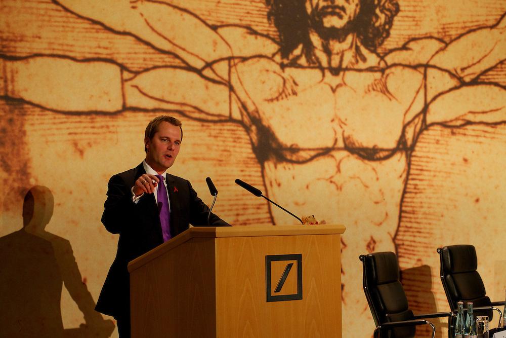 Kunde: Deutsche Bank Firmenkunden, Bundesminister Daniel Bahr