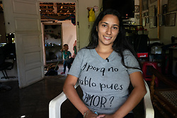 Emily Nicol Carcamo, Jalaca, Talanga. Emily migrated north but returned to Honduras. She has been helped to set up a small business by the Lutheran World Federation with support from ELCA.